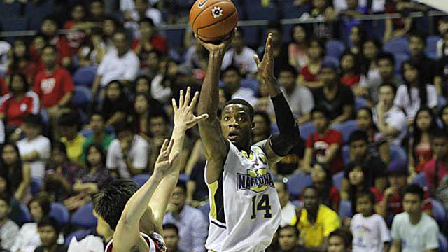 SILENT OPERATOR. Mbe is a constant double-double machine who plays with no frills. Photo by Rappler/Josh Albelda.