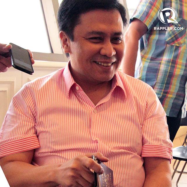 NOT ARRESTED. Sen Jinggoy Estrada says he will be back before November 18. Photo by Jedwin Llobrera/Rappler