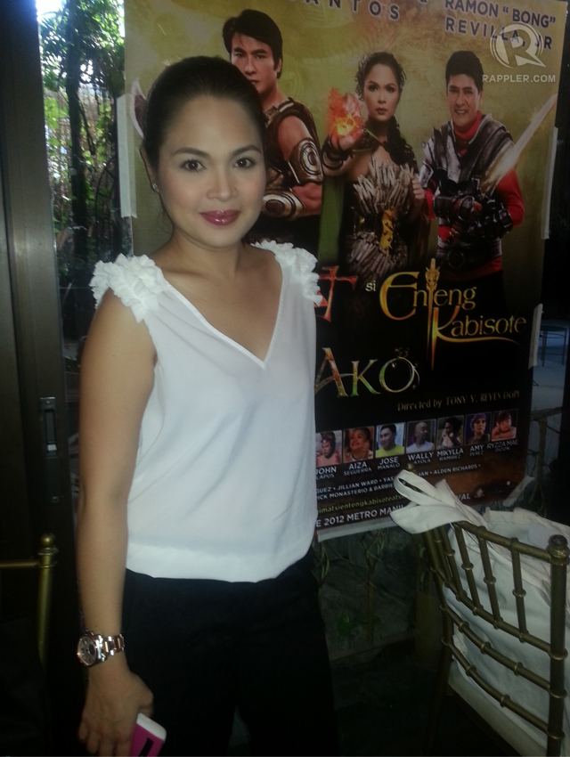 ONLY BROWN FOR HER. Judy Ann Santos shuns anything white u2014 whether pasta, bread or rice. Photo by Rappler