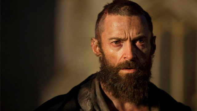 HIS FINEST. Hugh Jackman shed pounds to play the fugitive Jean Valjean. Photo from the movie's Facebook page