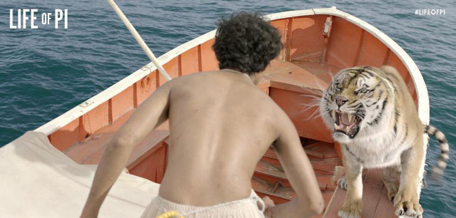 Photo from the 'Life of Pi' Facebook page