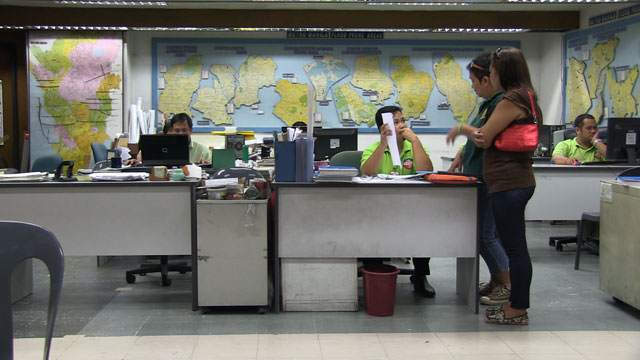 Loida Cillo files for on-site relocation with the MMDA