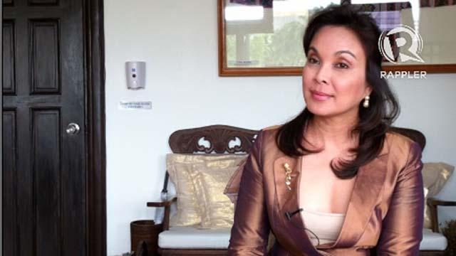 TV PERSONALITY. Senator Loren Legarda says she doesn't bank on beauty. File photo by Ayee Macaraig