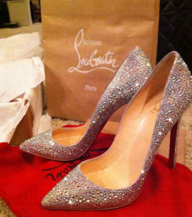 SPARKLES. Janet Lim-Napoles' daughter Jeane fancies expensive shoes like this pair she posted on her blog. Photo from Jeane Napoles' blog