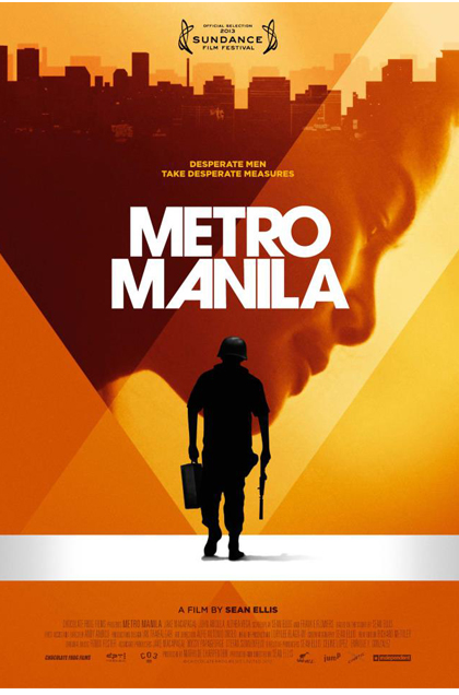 LIFE IN THE BIG CITY. Metro Manila poster from the Metro Manila Film Facebook page.