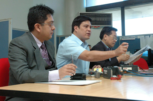 ELECTORAL PROTEST. An electoral protest over the 2007 senatorial polls was the root of the rift between Zubiri and Pimentel. File photo from Senate website