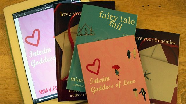 MINA ESGUERRA's BOOKS ARE available both as print editions and e-books
