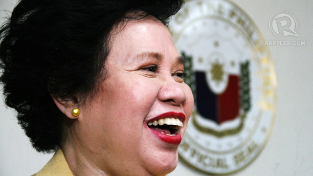 NO REGRETS. Sen Miriam Defensor Santiago says she has no regrets in life, accepting her u0022completely human failuresu0022 and u0022fair share of sadness.u0022 File photo by Emil Sarmiento