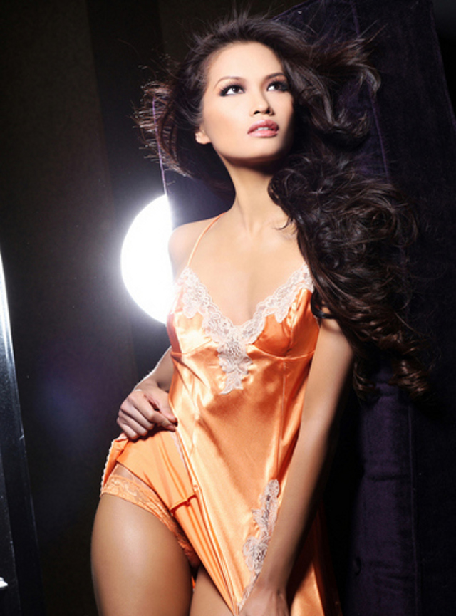Miss Philippines Janine Tugonon's glamshot. Photo courtesy of the Miss Universe Organization LP, LLLP