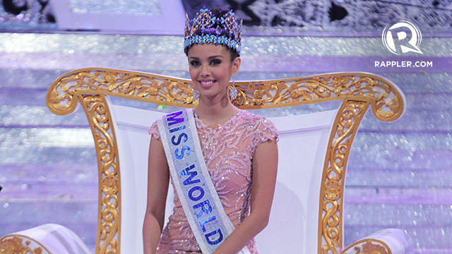 BEAUTY WITH A PURPOSE. Megan Young earned Philippines its first Miss World title. Photo by Jory Rivera