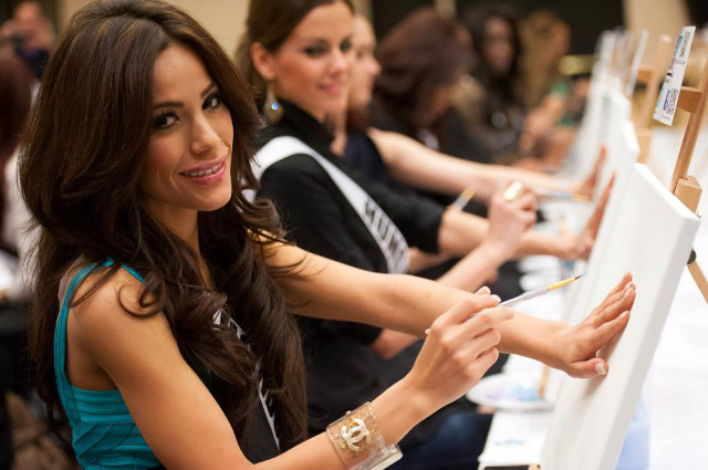 Miss Honduras Jennifer Andrade. Photo courtesy of the Miss Universe Organization LP, LLLP