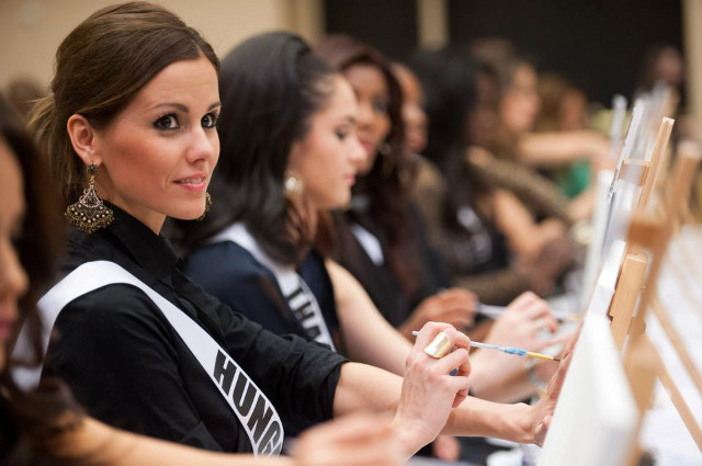 Miss Hungary Agnes Konkoly. Photo courtesy of the Miss Universe Organization LP, LLLP