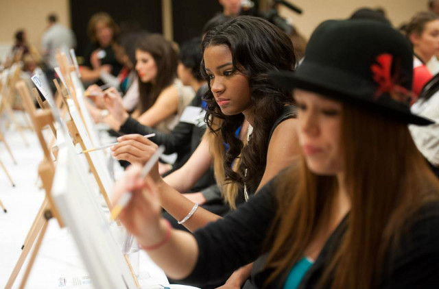 Miss Universe Leila Lopes from Angola. Photo courtesy of the Miss Universe Organization LP, LLLP
