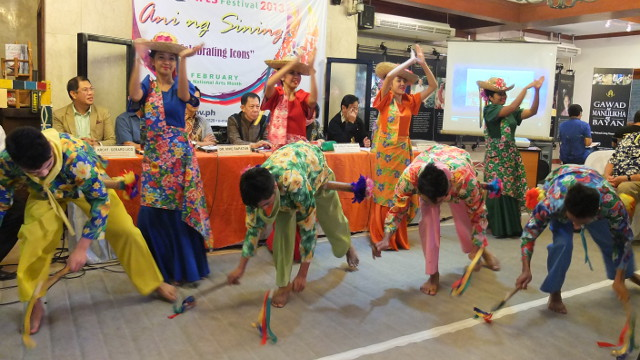 THE COLORS OF CULTURE. The dancing at the launch was just a taste of more festivities to come