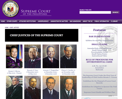 NEW SC WEBSITE. By April 14, the website sports a new look.