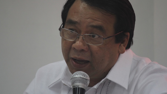 WHAT DO YOU KNOW about the Bagani Force, Bayan Muna Rep. Neri Colmenares asked officers of the AFP, the PNP and the CHR. Photo by Karlos Manlupig