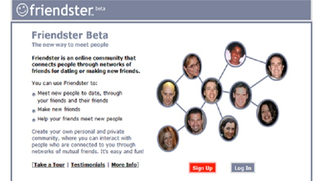 OLD SCHOOL. Do you still remember Friendster's beta version? Image from gadel.info