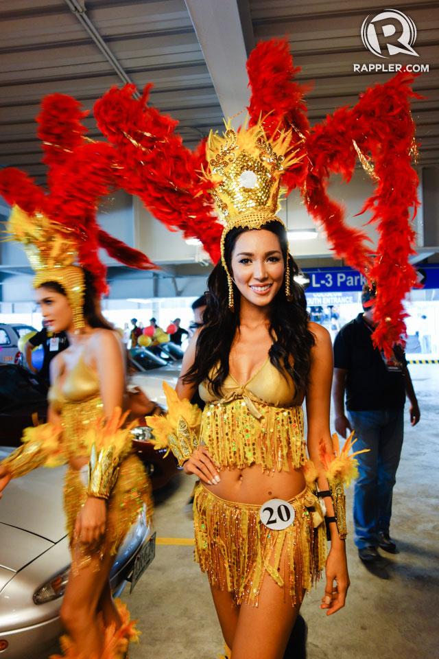 PARADE OF BEAUTIES. Bea Rose Santiago at the Parade of Beauties on April 6, Araneta Center, Cubao. Photo by Edric Chen
