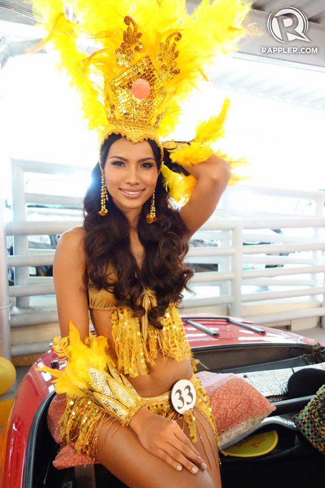 PARADE OF BEAUTIES. Parul Shah at the Parade of Beauties on April 6, Araneta Center, Cubao. Photo by Edric Chen