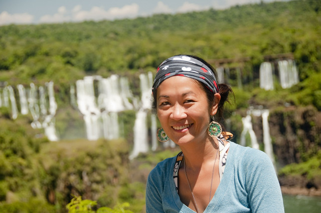 LILLIANE COBIAO. This Filipina lass traveled around the world literally for more than one year. Photo courtesy of Lilliane Cobiao