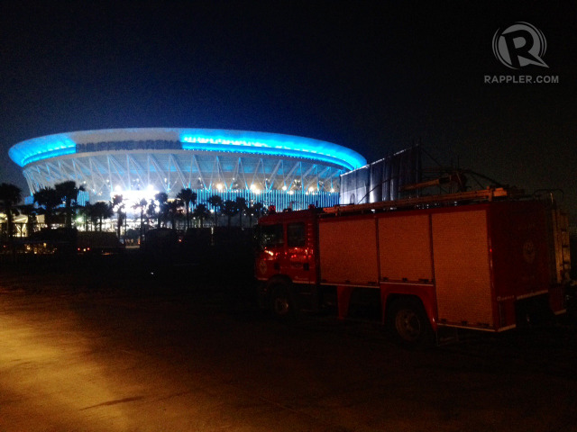 'LARGEST THEATER.' The 55,000-seater Philippine Arena is set to be inaugurated days before the centennial of the Iglesia ni Cristo. Photo by George Moya/Rappler