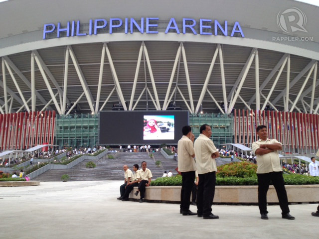 'FOR ALL.' The Iglesia ni Cristo says it can offer the Philippine Arena for use by groups aside from their church. Photo by George Moya/Rappler