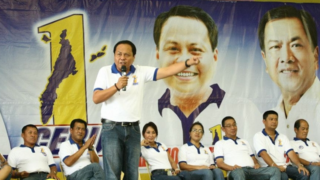 NO MASS EXODUS. One Cebu gubernatorial bet Pablo John u201cPJu201d Garcia says contrary to the statements of the LP, there has been no mass exodus of members of the Garciasu2019 party. File photo from PJ Garciau2019s Facebook page