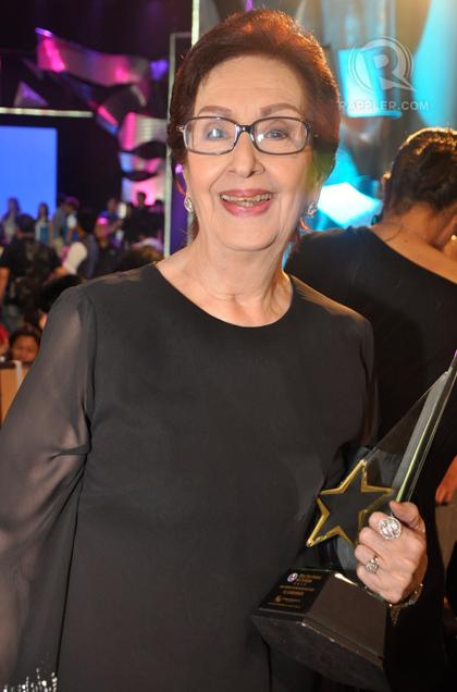 Ading Fernando Lifetime Achievement awardee, Ms. Gloria Romero