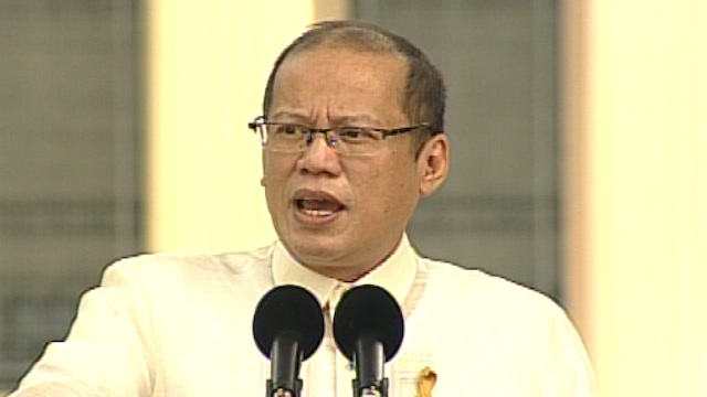 UNITY. President Benigno Aquino III called for unity among Filipinos on Independence Day. Screenshot from Rappler's livestream