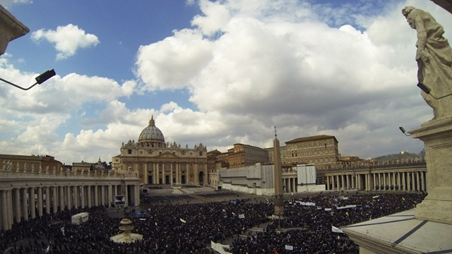 CHURCH PLAGUE. Men of the Vatican, too, worsen the sex trade problem. File photo from AFP