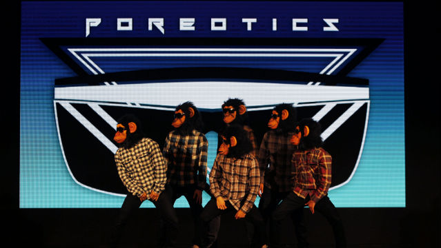 FRONT ACT. America's Best Dance Crew Season 5 winners Poreotics will open Bruno Mars' concert in Manila on March 22