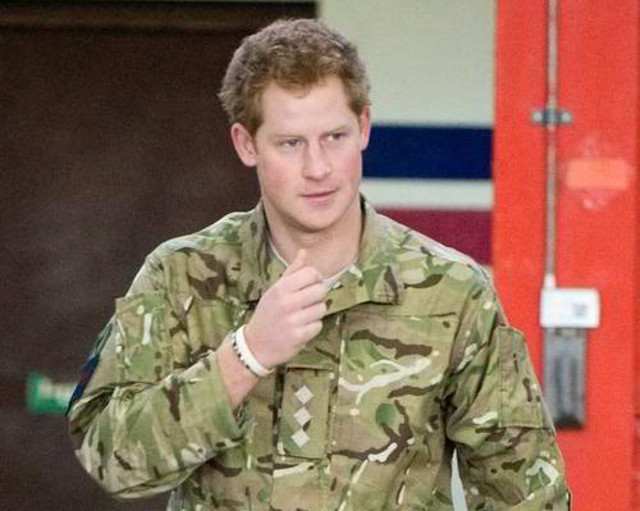 u0022NO SUCH THING AS PRIVACY,u0022 laments Prince Harry. Photo from the Prince Harry Facebook page