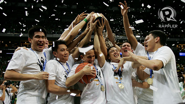 BACK ON TOP. The Archers win their first title since 2007. Photo by Rappler/Josh Albelda.