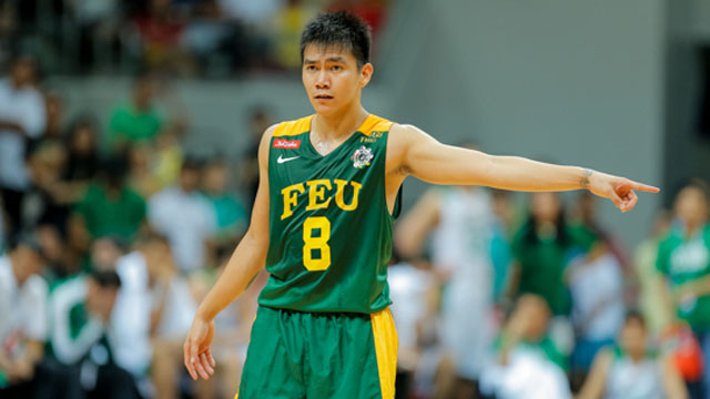 SWEET TURNAROUND. Former FEU star guard RR Garcia savors seeing this year's Tamaraws turn the tables on last year's tormentors La Salle. File photo by Rappler