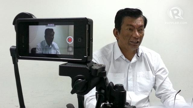 NEW WARAY NATION. Albay Governor Joey Salceda says focus now should be on rebuilding typhoon-hit areas. Here Salceda speaks to Rappler reporters and editors 19 Nov 2013. Photo by Rappler/KD Suarez