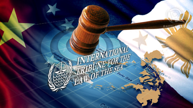 COURT WILL DECIDE The Philippines will take China to international court over their territorial dispute in the South China Sea. Graphic by Mich Garcia