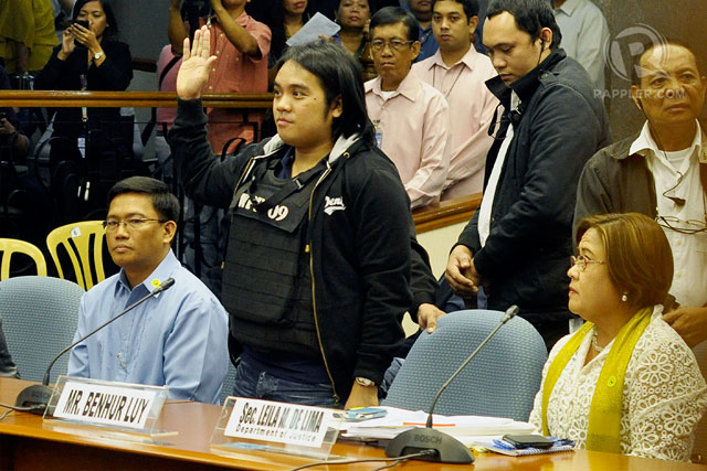 SPECIAL SKILLS. Benhur Luy is said to have a talent for forging signatures, which he says lawmakers allowed him to use to facilitate PDAF release to Napoles' NGOs. Photo by LeAnne Jazul/Rappler