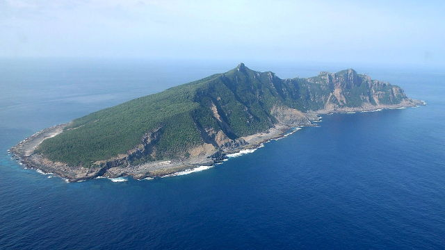 JAPAN VS CHINA. A file picture dated April 27, 2005 shows an aerial view of Uotsuri Island, one of the disputed Senkaku Islands in the East China Sea. File photo by Hiroya Shimoji/EPA