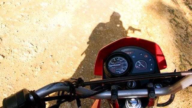 Taken by the author on a break from motorbiking around Siargao