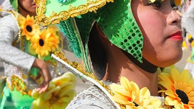 A CAREFUL ATTENTION to detail characterizes the dancers' costumes