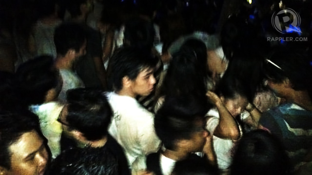 SWEAT, PAINT AND BEER. People danced within limited space but with unlimited energy. Photo by Karen Ceballos