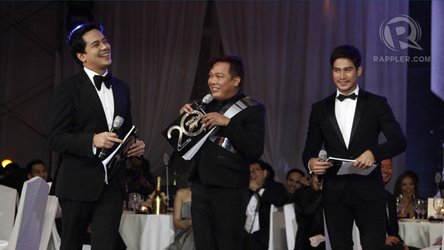 JOHN LLOYD CRUZ, JOHN Lapus and Piolo Pascual were the program hosts