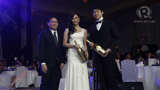 MARICAR REYES AND RICHARD Poon were the Moet and Chandon Fab Pair