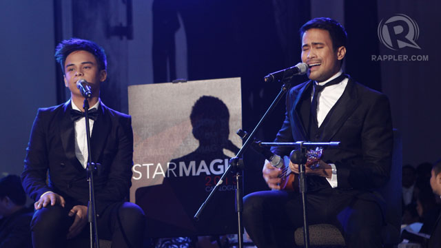 KHALIL RAMOS AND SAM Milby sang 'Somewhere Over the Rainbow' Hawaiian-style