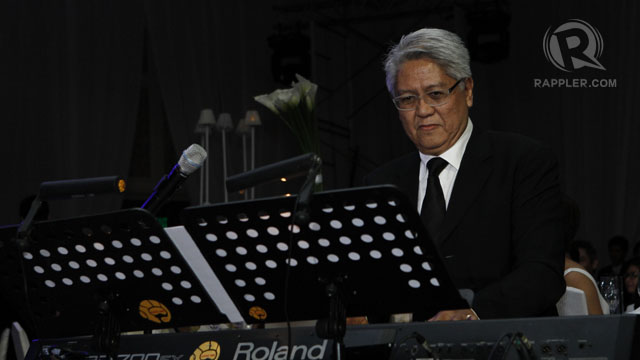 MAESTRO RYAN CAYABYAB LED the accompaniment to the musical performances