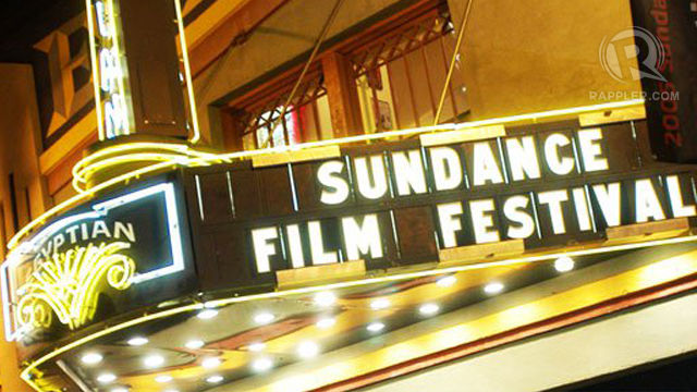 THE SUNDANCE. Film-makers and their masterpieces converge in the Sundance Film Festival in January. Photo from Sundance Film Festival Facebook page.