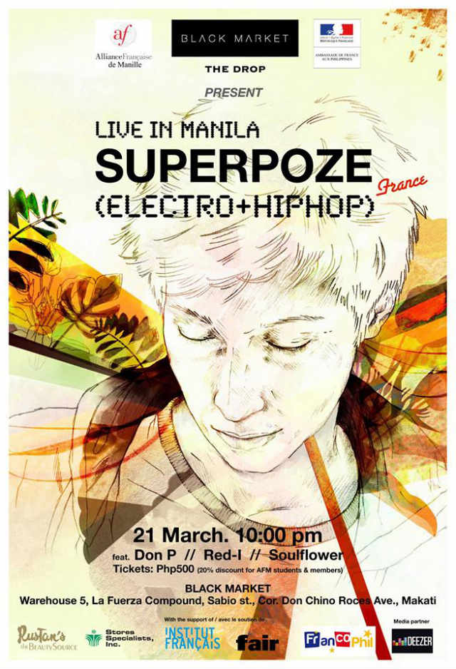 Photo from Superpoze Live in Manila's Facebook page