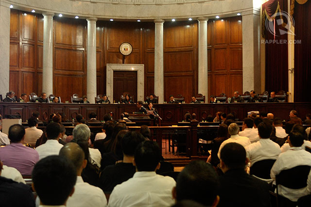 CONTINUATION. The battle concerning state budget and disbursements continues. File photo by LeAnne Jazul/Rappler