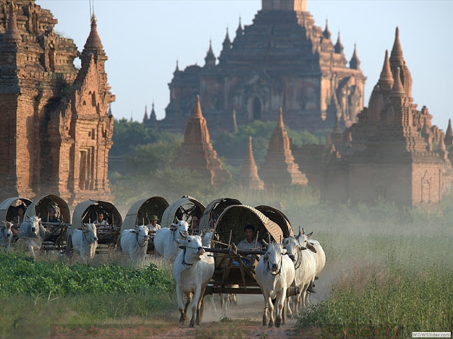 MYANMAR'S GEMS. They surely await in Bagan. Photo from Myanmar's tourism website