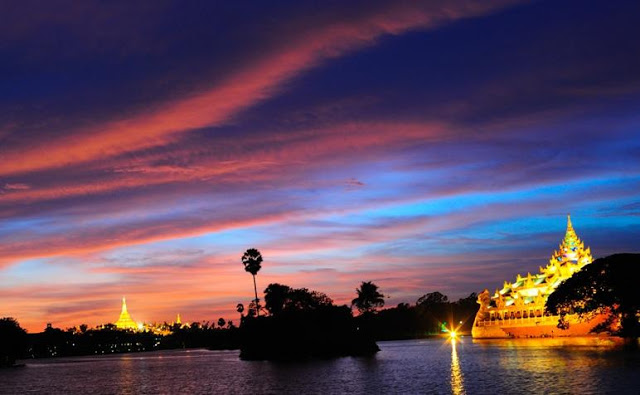 NO LONGER HIDDEN. Tourists will revel in places like this in Yangon. Photo from Myanmar's tourism website
